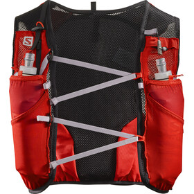 Salomon Adv Skin 5 Bag Set Fiery Red/Graphite